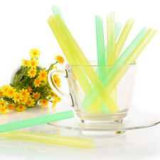 1 Bag Thick Drink Straw Bubble Boba Dringking Straws Party Smoothies