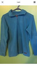 New With Tags Patagonia Womens NBC Sports 1/4 Zip Jacket  Fleece Small S Blue