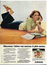 Publicité Advertising 1974 Le Catalogue La Redoute
