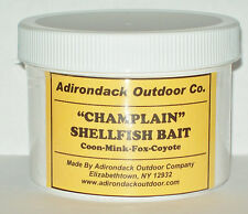 Adirondack CHAMPLAIN SHELLFISH BAIT 8 oz Raccoon mink, fox trapping traps snares