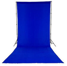 Lastolite Colorama Chromakey Blue Screen Curtain Background 3m x 7m