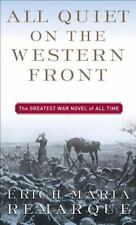 All Quiet on the Western Front Erich Maria Remarque Mass Market Paperback