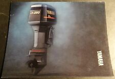 1989 YAMAHA OUTBOARD MOTOR SALES BROCHURE 32 PAGES  (815)