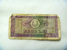10 lei Romania 1966 free shipping can