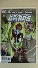 """Blackest Night"" Green Lantern Corps Issue 39 ""First Print"" - 2009"