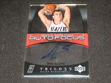 SERGIO RODRIGUEZ BLAZERS SIGNED AUTOGRAPHED CERTIFIED AUTHENTIC BASKETBALL CARD