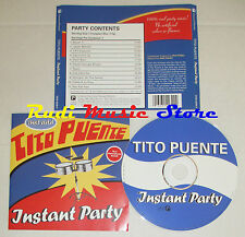 CD TITO PUENTE Instant party 2004 ec INSTANT PICANTE CCD-2239-2 lp mc dvd vhs