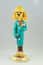 DOG GROOMER POODLE APRICOT  INTERCHANGABLE BODY SEE BREED & BODIES @ EBAY STORE