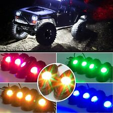 4pcs 9W RGB Multi-Color High Power LED Rock Light Kit For Jeep Truck SUV OffRoad