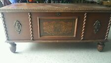 Ed Roos Cedar Chest Vintage Unique 1900-1950's Antique Rare Find Great Storage