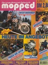 MOP9703 + Test HARLEY-D. Softail Springer Test KAWASAKI ZRX 1100 + mopped 3/1997