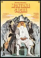 THE HOLY MOUNTAIN 1974 German 23x33 poster A Alejandro Jodorowsky filmartgallery