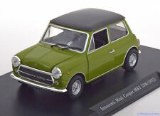 1:24 Leo Models Mini Cooper MK3 1300 1972 green/black
