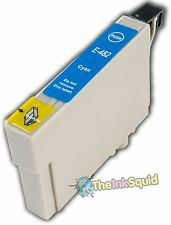 Cyan/Blue TO482 T0482 non-oem Ink Cartridge for Epson Stylus R200 R 200 Printer