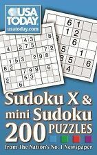 USA TODAY Sudoku X and Mini Sudoku: 200 Puzzles from The Nation's No. 1 Newspape