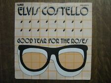 ELVIS COSTELLO 45 TOURS HOLLANDE GOOD YEAR FOR THE ROSE