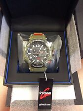 New Casio GPW1000KH-3A G-Shock GPS Solar MB6 TRIPLE-G Hybrid Mens Watch