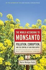 The World According to Monsanto : Pollution, Corruption, and t (FREE 2DAY SHIP)