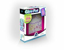 Mindscope Light Up LED GLOW PAD PINK Animator with Glow Markers New