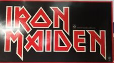 Iron Maiden Cool & Rare Promo Banner Type Poster 1981