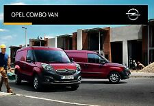 Opel Combo Van 03 / 2015 catalogue brochure tcheque Czech rare