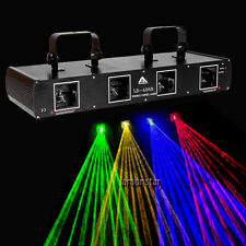 760mW 4 lens 4Beams Red Green Yellow Blue DMX 7ch DJ Laser Light DJ Disco Stage