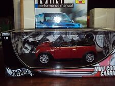 176 PAGE GUIDE TO OWNING NEW BMW MINI BY HAYNES PLUS M/B 1:18 SCALE CABRIOLET