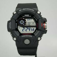 New Casio GW9400-1 G-Shock Rangeman Triple Sensor Solar Digital Men's Watch