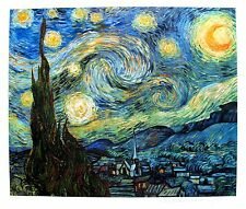 VINCENT VAN GOGH Estate Signed Giclee STARRY NIGHT