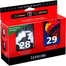 Lexmark 28 Black 29 Color Genuine Ink Cartridges For Z1300 Z1310 Z1320 Z845
