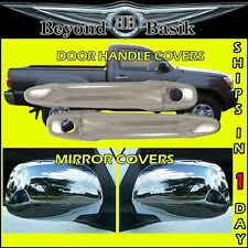 05-11 Toyota Tacoma Chrome 2 Door Handle Covers with 2 Keyholes + Mirror Covers