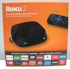 ROKU 2 STREAMING MEDIA PLAYER BLACK (4210R) - NEW IN BOX