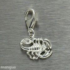 Charm Sternzeichen Anhänger für Bettelarmband 925 Silber - Skorpion - NEU