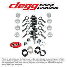 "FORD 351(3"")-393 SCAT STROKER KIT Forged(Dish)Pist., I-Beam Rods"