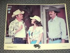 ORIGINAL SMOKEY & THE BANDIT II MOVIE LOBBY CARD 8X10 SALLY FIELD BURT REYNOLDS
