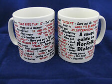 Norfolk langue locale sayings traduction anglaise pour mug