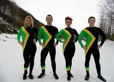 Jamaican Bobsled Team Cool Fancy Dress Costume Jamaica Bobsleigh Running med