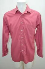 PIERRE CARDIN CHEMISE .  HOMME COSTUME COL 40 M ROUGE