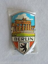 "Vintage Berlin Stocknagel Souvenir Hiking Stick Medallion 1 1/2"" x 1"" Pkg  #5"