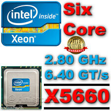 SLBV6 Intel Xeon Processor X5660 Six Core HEX 12M Cache 2.80 GHz 6.40 GT/s QPI