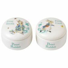 Beatrix Potter Peter Rabbit Tooth Curl Box Baby Christening Gift A25866