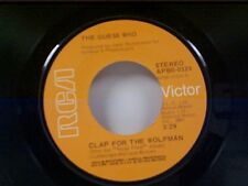 """GUESS WHO """"CLAP FOR THE WOLFMAN / ROAD FOOD"""" 45"""