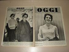 OGGI=1955/18=PAUL CLAUDEL=MOSTRO PRESINACI=ANITA CANTIERI=CGIL=BRODERICK CRAWFOR