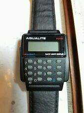 Aqualite Vintage calculator watch