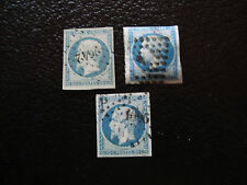 FRANCE - timbre yvert et tellier n° 14A x3 obl (A15) stamp french (T)
