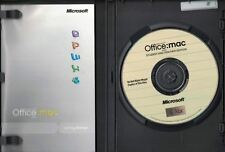Microsoft Office Mac Student and Teacher 2004 Word Excel PowerPoint MAC