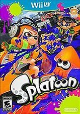 SPLATOON Nintendo Wii U 2015 KIDS FUN Combat GAME MULTI PLAYER GAME USA