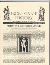 Iron Game History Bodybuilding Magazine/Reflections Of Physical Culture 12-15