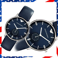 100% BRAND NEW WITH BOX EMPORIO ARMANI Unisex Authentic WATCH AR1647 BLUE DIAL