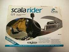 CARDO SCALA RIDER G9 BIKE TO BIKE BLUETOOTH INTERCOM SINGLE